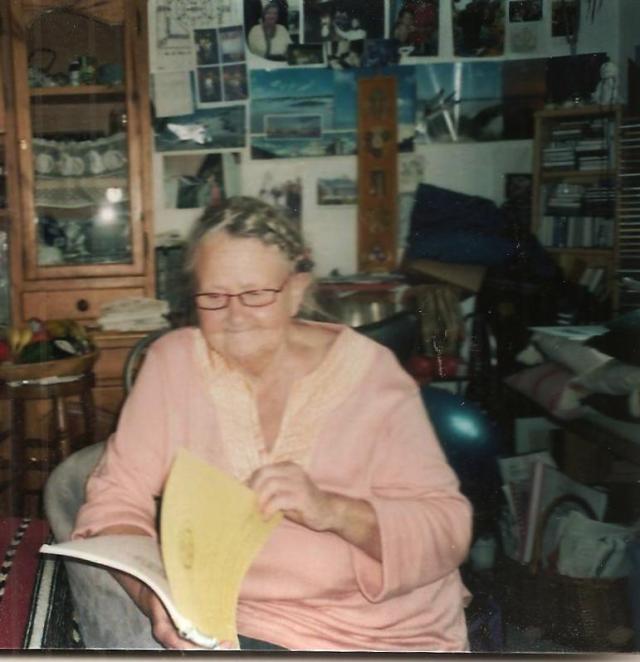 Wohnzimmer Lesung